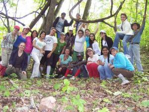 MDC students Black Fox Wilderness (Custom)